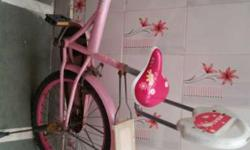 BSA Cycle in Pink colour, good condition.