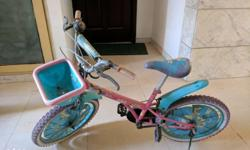 Bsa Dora cycle 20 inches...3-4 years old... reason of
