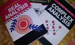 Bsc 3rd year maths Books