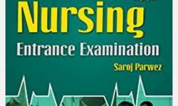 BSc nursing and entrance exam books with solve paper