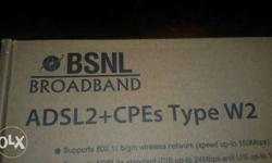 BSNL BROADBAND, New One Full set Box No complaints,