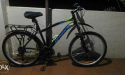Btwin Rockrider cycle. With all accessories (gel seat,