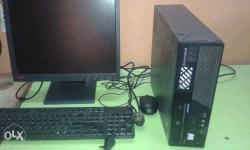 full pc ibm lenovo d processor 80gb 1gb dvd cpu rs 2300