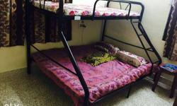 Bunk bed worth 13k... rarely used in pakka condition..