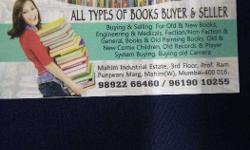 we buy the following catagory of second hand books at