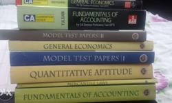 CA CPT ICAI all books set and McGraw hill Economic and