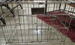 cage for cats or puppies new 1 week used.