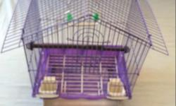 Completely brand new Cage for small bird at affordable