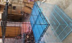 Imported foldable cages for all variety of pets for