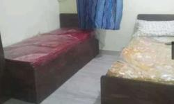 Call 84O8926568 Twin Sharing Fully Furnished Rooms TV