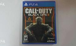 One time used like new black ops 3 for sale