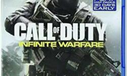 Call Of Duty Infinite Warfare, Hardly Used Mint