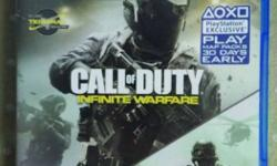 Call Of Duty Infinite Warfare Sony PS4 Game Case