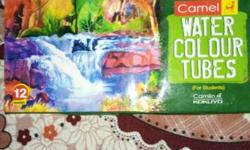 Camel Water Colour Tubes