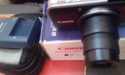 Cannon camera sx210 imported rarely used with all accs