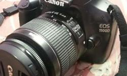 Canon1100D dslr in Mint condition is on sale selling