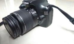 Canon 1100D Dslr camera with 18-55mm lens with Image