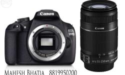 Canon 1200 D With 55-250 Is Lense With 8 G B Card With