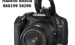 Canon 500 D only 2000 photo clicked Brand New condition
