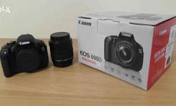 Canon 600d good condition with all accessories,box and