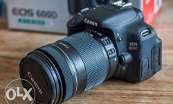 Canon EOS 600D Camera With Box