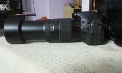 Superb camera with ultimate lens quality 70 300 lens