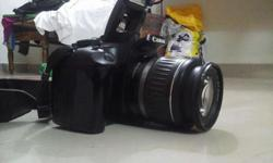 Canon Dslr rebel 1000d one year old