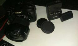 Canon EOS 7D with 18-135 mm Lens. Well maintained. With