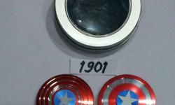 Captain America full metal spinner spin time : 6