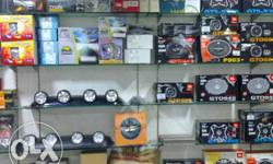 Car accessories items for shop