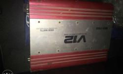 Car amplifier In a very good condition Available at a