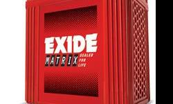 Type: car battery exide matrix battery for sale new one