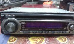 Car Mp3 player Kenwood company in new condition