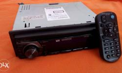 CAR STEREO from KENWOOD 3 years old. CD drive(Mp3 & WMA