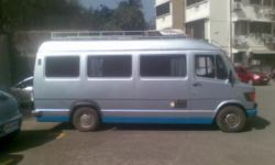 We have converted a 14 seater tempo traveller into a