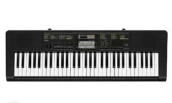 Casio CTK2400 61keys full size keyboard new rarely used