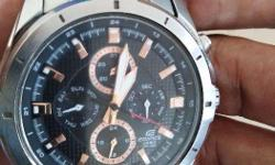 Casio Edifice Ef-328d-1a5v, bought Before 6 Months, Not