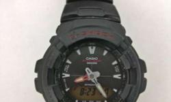 Casio G-Shock G-101 used for more than one year, in a