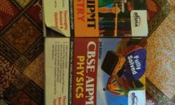 CBSE AIPMIT Physics And Chemistry Books