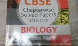 Cbse Chapterwise Solutions For Biology.totally New Book