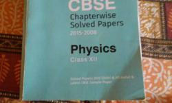 CBSE Chapterwise Solved Papers 2015-2018 Physics Class