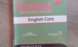 CBSE Question Bank English Core Book