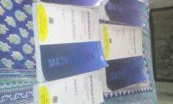 Cengage maths book set of 5 consists of calculus,