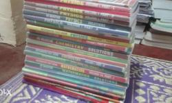 These are Akash books used by Chaitanya students for