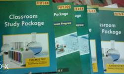Chemistry fiitjee package. Complete 11th 12th set