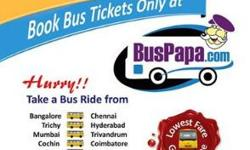 There are 2 popular bus routes from Chennai to Salem