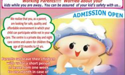 CHERRY CARE PLUS CRECHE.. Provides Day & Night Service