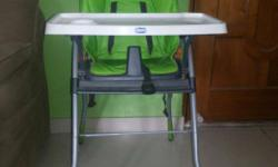 2 yrs old baby chair from chicco . Not used much .