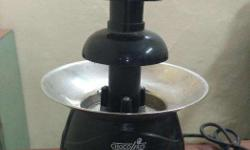 Brand new unused chocolate fountain, total height 12