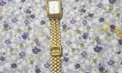 Citizen watch gold colour 3 months used i have a gift